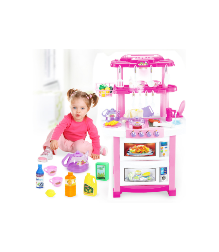 Bērnu virtuve ar aksesuāriem