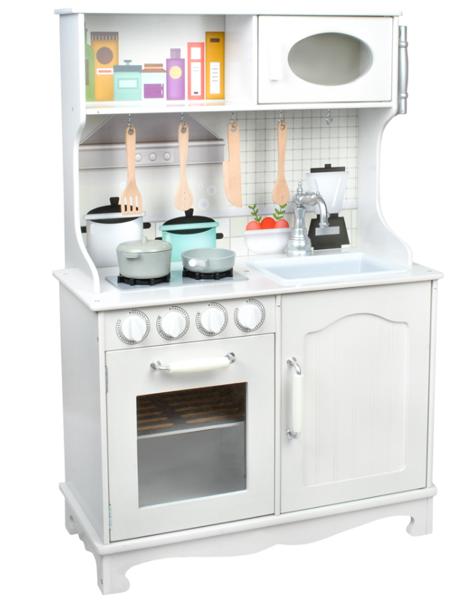 Bērnu virtuve ar galda piederumiem KD4581