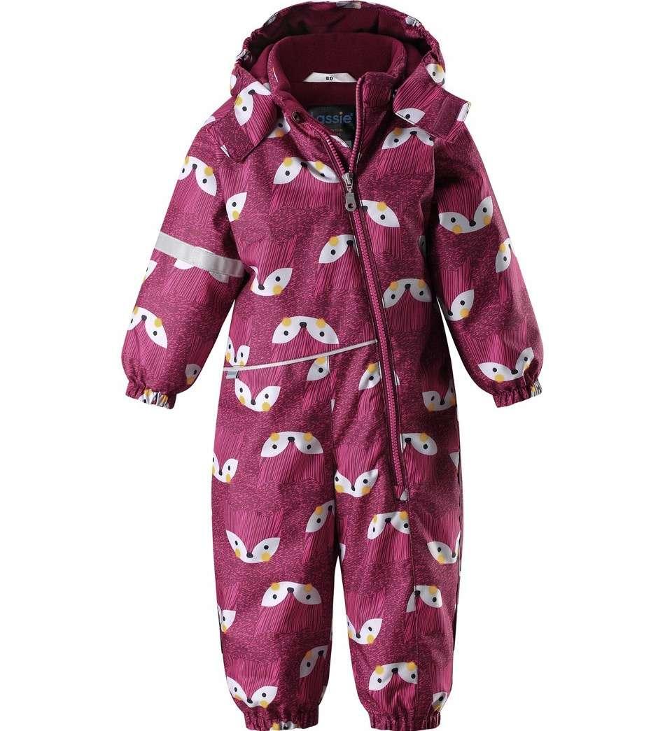Bērnu ziemas kombinezons Lassie LassietecRed Plum Art.710734-3991