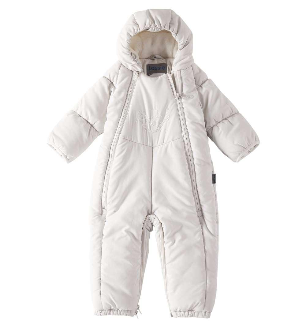 Bērnu ziemas kombinezons-transformeris Lassie Off White Art.710713-0160