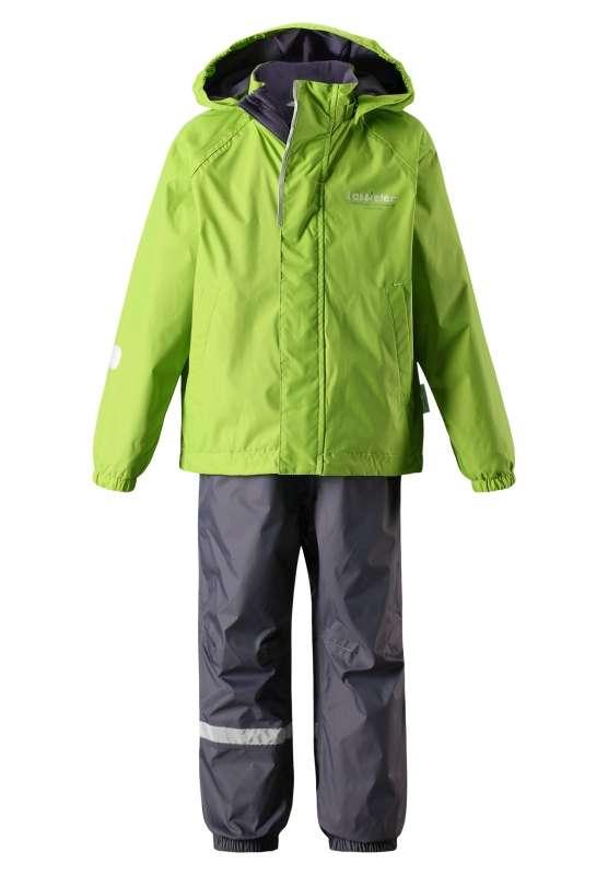 Bērnu ziemas komplekts: jaka un bikses Lassie'18 Lassietec®Bright Green Art.723711-8310