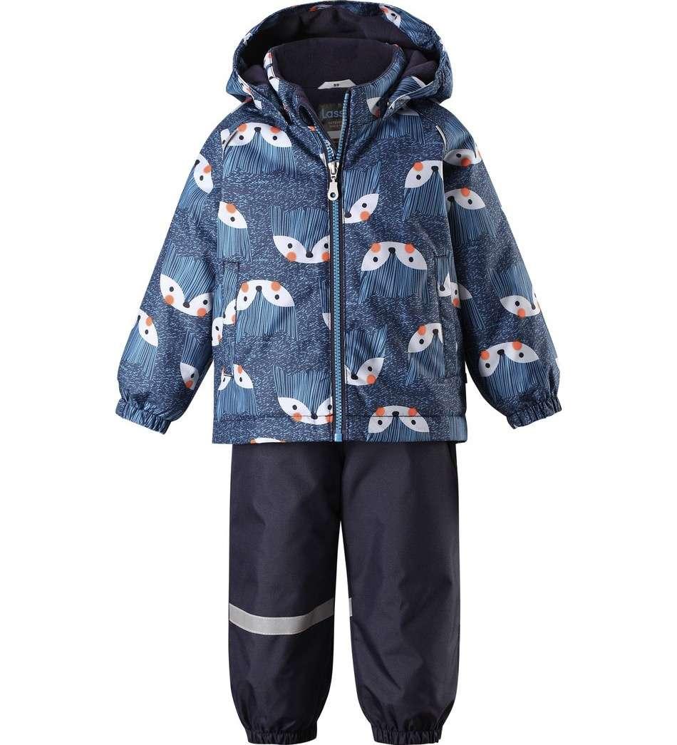 Bērnu ziemas komplekts: jaka un bikses Lassie'19 Lassietec® Dark Blue Art.713732-6951