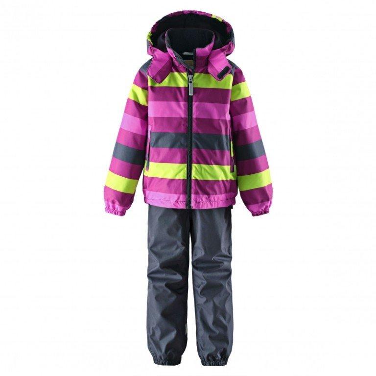 Bērnu ziemas komplekts: jaka un bikses Lassie Dark Raspberry Art. 723672-4831