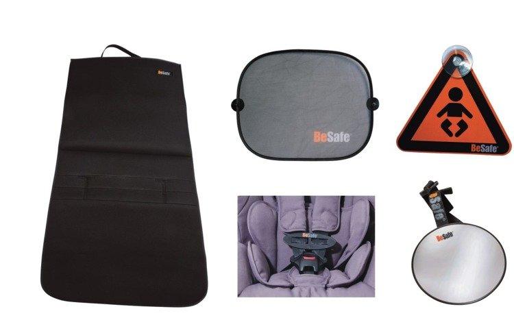 BESAFE autosēdekļa organaizers + aksesuāri