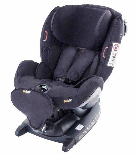 BeSafe iZi Combi X4 ISOfix RWF Black Bērnu autosēdeklis 0-18 kg