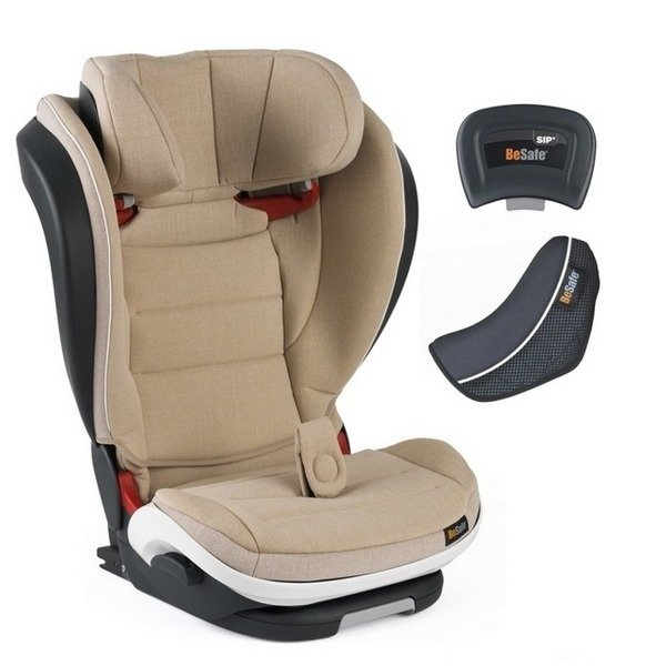 BeSafe Izi Flex Fix I-size Beige Bērnu autosēdeklis 15-36 kg