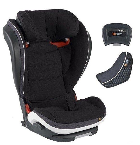 BeSafe Izi Flex Fix I-size Black melange Bērnu autosēdeklis 15-36 kg