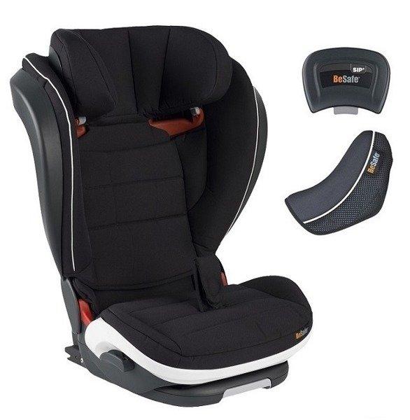 BeSafe Izi Flex Fix I-size Fresh black cab Bērnu autosēdeklis 15-36 kg