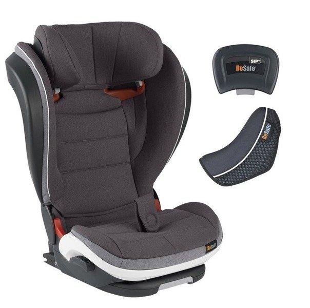 BeSafe Izi Flex Fix I-size Metallic melange Bērnu autosēdeklis 15-36 kg