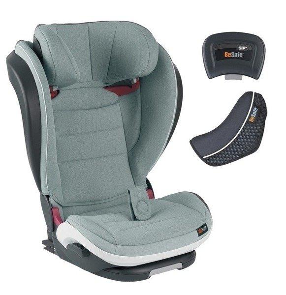 BeSafe Izi Flex Fix I-size Sea green melange Bērnu autosēdeklis 15-36 kg