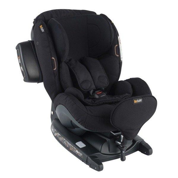 BeSafe iZi Kid X3 i-Size Fresh cab black Bērnu autosēdeklis 0-18 kg