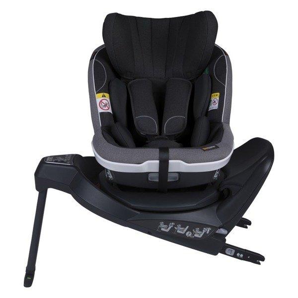 BeSafe iZi Turn i-Size RWF Black melange Bērnu autosēdeklis 0-18 kg