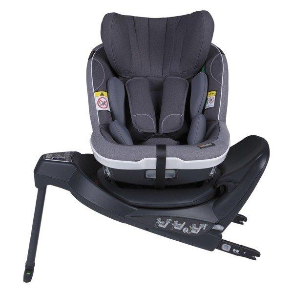 BeSafe iZi Turn i-Size RWF Metallic melange Bērnu autosēdeklis 0-18 kg