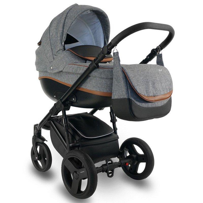 Bexa Ideal New Col.IN9 Bērnu rati 3in1