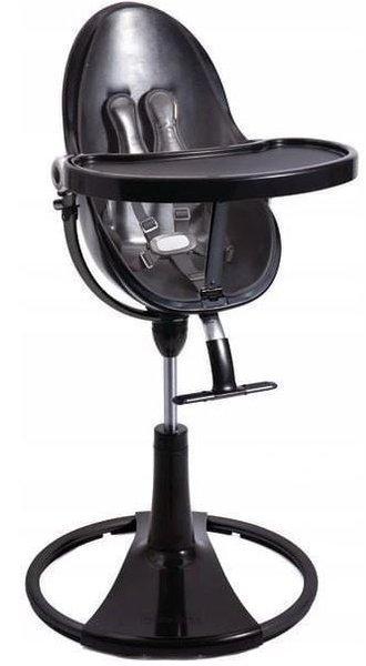 Bloom Fresco Chrome black Barošanas krēsla rāmis