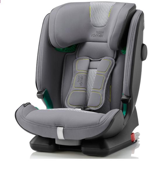 Britax Romer Advansafix I-size Cool Flow - Silver Bērnu autosēdeklis 9-36 kg