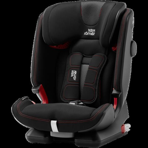 Britax Romer Advansafix IV R Cool Flow - Black Bērnu autosēdeklis 9-36 kg
