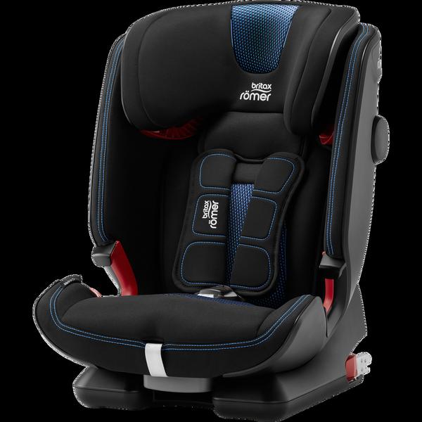 Britax Romer Advansafix IV R Cool Flow - Blue Bērnu autosēdeklis 9-36 kg