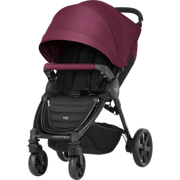 Britax Romer B-Agile 4 Plus Wine Red Sporta rati