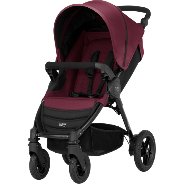 Britax Romer B-Motion 4 Wine Red Sporta rati