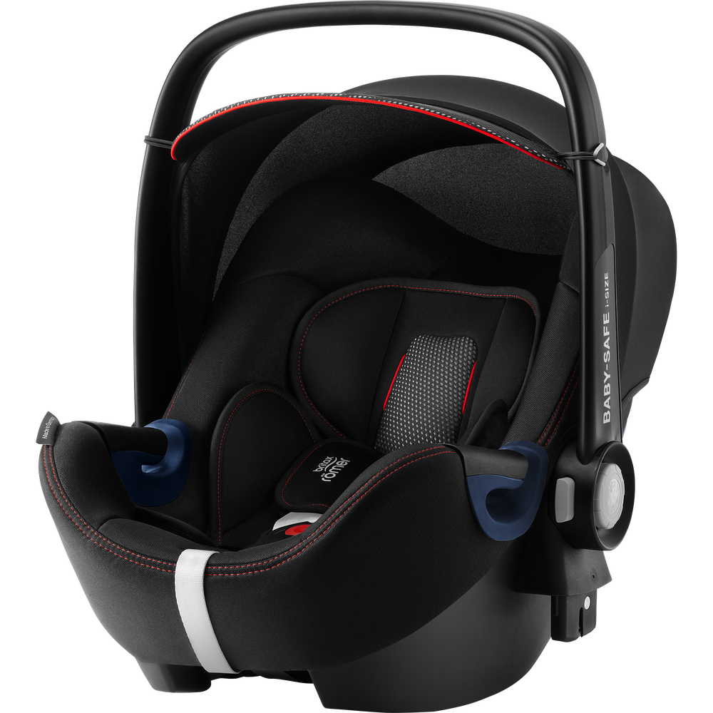 Britax Romer Baby-Safe 2 I-Size Cool Flow - Black Bērnu autosēdeklis 0-13 kg