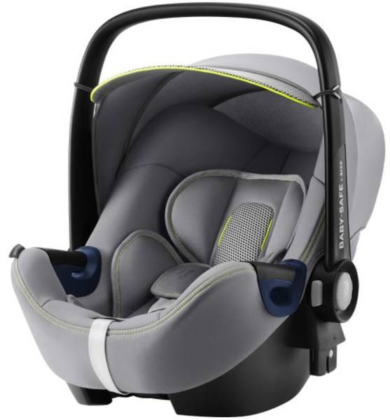 Britax Romer Baby-Safe 2 I-Size Cool Flow Silver Bērnu autosēdeklis 0-13 kg + Flex Isofix bāze