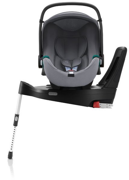 Britax Romer Baby-Safe 3 I-Size Frost grey Bērnu autosēdeklis 0-13 kg + Flex iSense bāze
