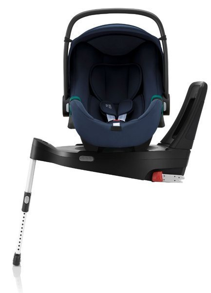 Britax Romer Baby-Safe 3 I-Size Indigo blue Bērnu autosēdeklis 0-13 kg + Flex iSense bāze