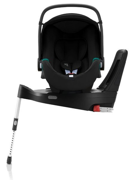 Britax Romer Baby-Safe 3 I-Size Space black Bērnu autosēdeklis 0-13 kg + Flex iSense bāze