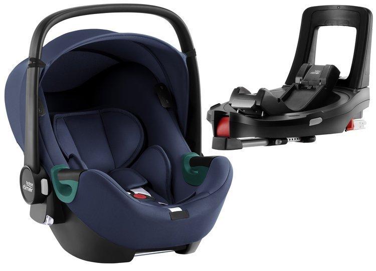 Britax Romer Baby-Safe iSense i-Size Indigo blue + Flex iSENSE Base Bērnu autosēdeklis 0-13 kg