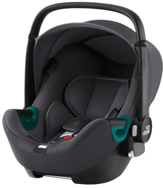 Britax Romer Baby-Safe iSense i-Size Midnight grey Bērnu autosēdeklis 0-13 kg