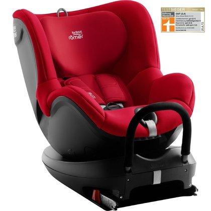 Britax Romer Dualfix 2 R Fire Red Bērnu autosēdeklis 0-18 kg