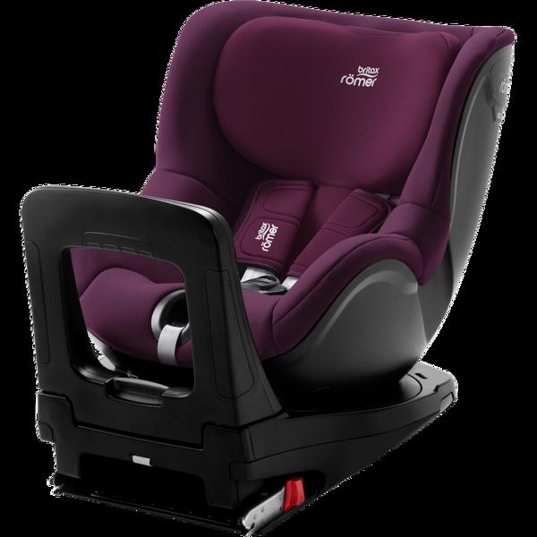 Britax Romer Dualfix I-Size Burgundy red Bērnu autosēdeklis 0-18 kg