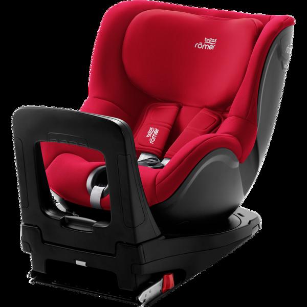 Britax Romer Dualfix I-Size Fire red Bērnu autosēdeklis 0-18 kg