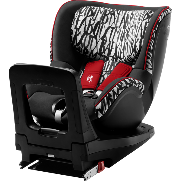 Britax Romer Dualfix I-Size Letter design Bērnu autosēdeklis 0-18 kg