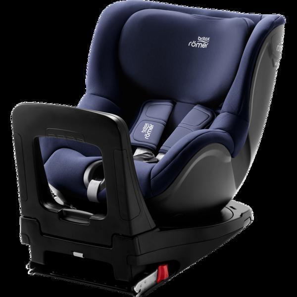 Britax Romer Dualfix I-Size Moonlight blue Bērnu autosēdeklis 0-18 kg
