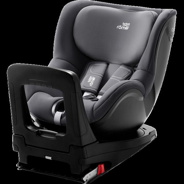 Britax Romer Dualfix I-Size Storm grey Bērnu autosēdeklis 0-18 kg