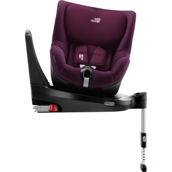 Britax Romer Dualfix M I-Size + ISOFIX Base Burgundy Red Bērnu autosēdeklis 0-18 kg