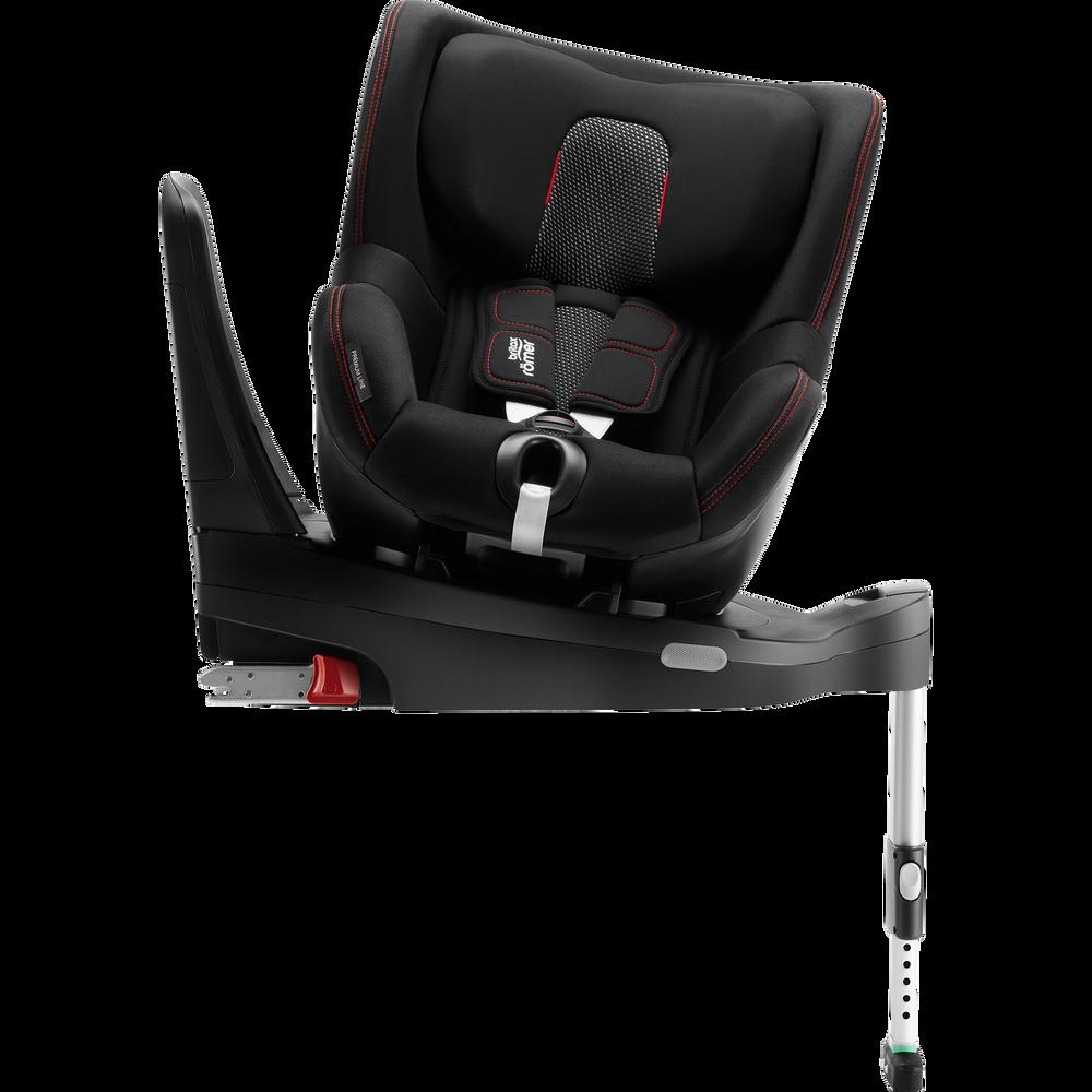 Britax Romer Dualfix M I-Size + ISOFIX Base Cool Flow - Black Bērnu autosēdeklis 0-18 kg