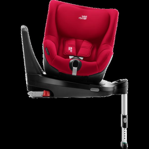 Britax Romer Dualfix M I-Size + ISOFIX Base Fire Red Bērnu autosēdeklis 0-18 kg