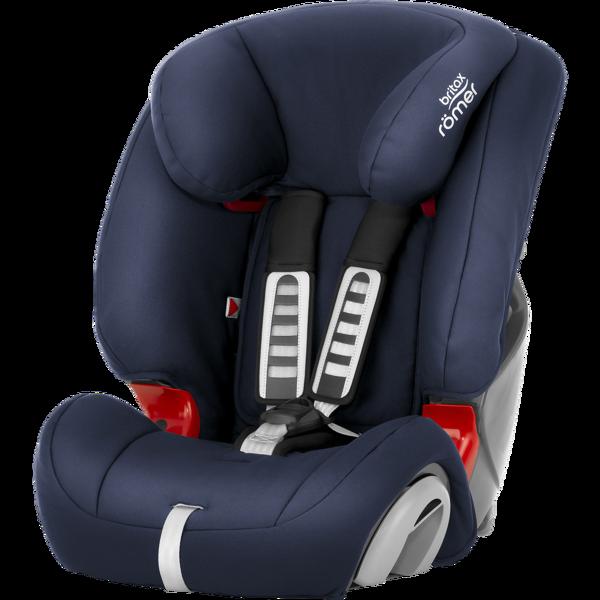 Britax Romer Evolva 1-2-3 Moonlight blue Bērnu autosēdeklis 9-36 kg