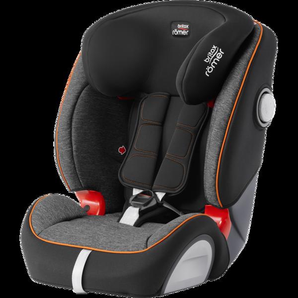 Britax Romer Evolva 1-2-3 SL Sict Black Marble Bērnu autosēdeklis 9-36 kg