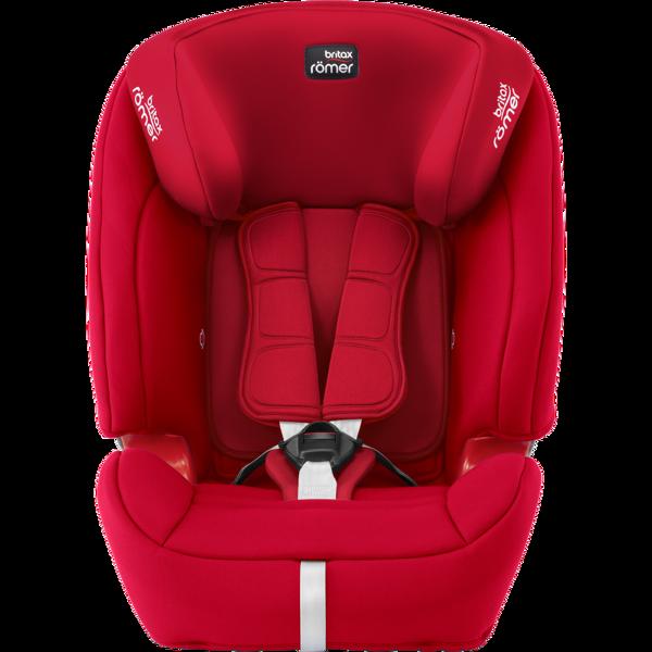 Britax Romer Evolva 1-2-3 SL Sict Fire Red Bērnu autosēdeklis 9-36 kg