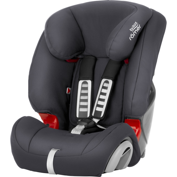 Britax Romer Evolva 1-2-3 Storm grey Bērnu autosēdeklis 9-36 kg
