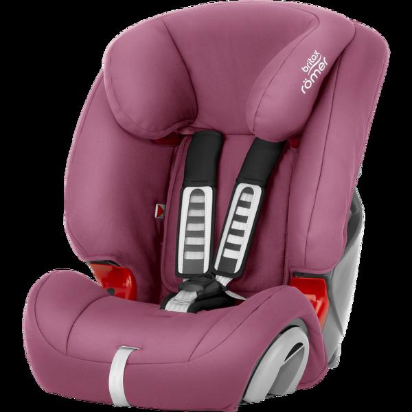 Britax Romer Evolva 1-2-3 Wine rose Bērnu autosēdeklis 9-36 kg