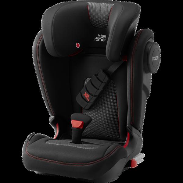 Britax Romer Kidfix III S Cool Flow - Black Bērnu autosēdeklis 15-36 kg