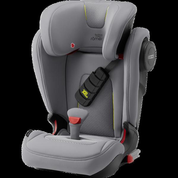 Britax Romer Kidfix III S Cool Flow - Silver Bērnu autosēdeklis 15-36 kg
