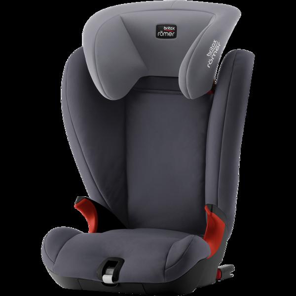 Britax Romer Kidfix SL Storm grey Black frame Bērnu autosēdeklis 15-36 kg
