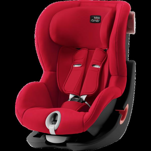 Britax Romer King II Fire Red Black frame Bērnu autosēdeklis 9-18 kg