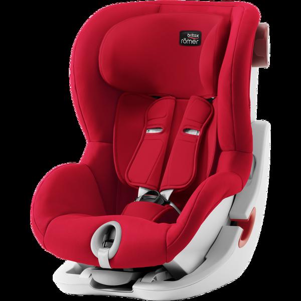 Britax Romer King II Fire Red White frame Bērnu autosēdeklis 9-18 kg